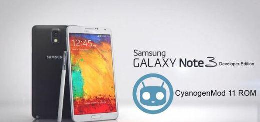 Install CM11 on Verizon Galaxy Note 3 Developer Edition