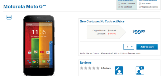 Moto G to Hit the U.S. Cellular Store Shelves