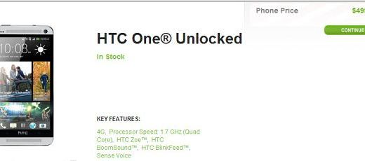 Price Slashed By $100 for US Version of HTC One