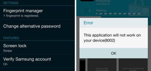 PayPal Fingerprint Support Disabled in Verizon Galaxy S5 Version