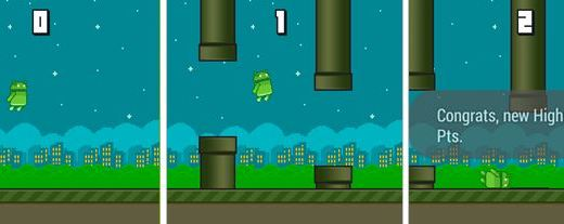 Android Wear Receives Flappy Bird Clone