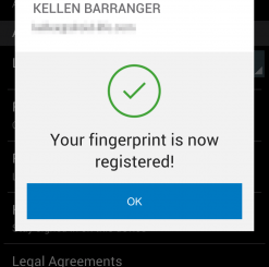 How to Configure PayPal to Work with the Fingerprint Sensor