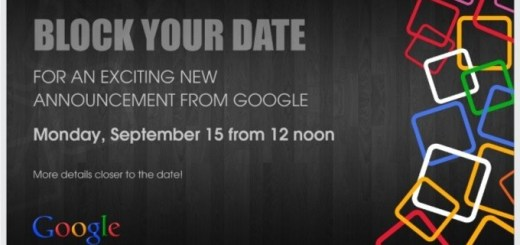 Google Sends Invites for September 15