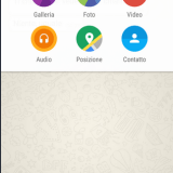 Material Design WhatsApp on Android