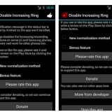 Disable Increasing Ringtone on Android Devices