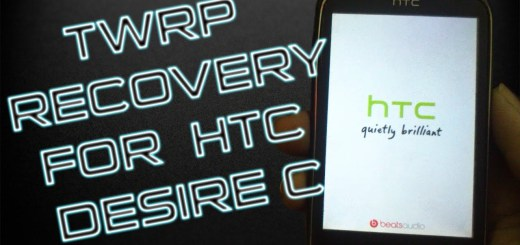 Install TWRP Recovery on HTC Desire C