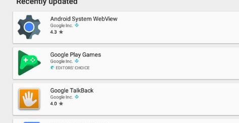Update your Android Apps on Chromebook