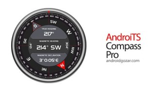 AndroiTS Compass Pro 2.17 download software professional compass