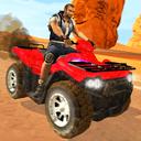 Play online motor racing 4 wheel ATV Quad Bike Racing Mania Android - mobile mode version