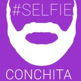 Conchita Wurst Selfie Bart