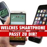 Smartphone-Quiz: Welches Smartphone passt zu dir?