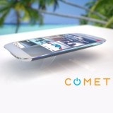 Comet: das wasserdichte und schwimmfähige Smartphone