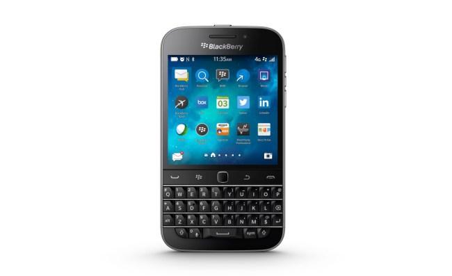 """Mittelfristig wird das kanadische Unternehmen seine """"BlackBerry 10""""-Smartphones (im Bild: das Modell Classic) weiterhin verkaufen – unter anderem deshalb, weil etliche Regierungen sich auf diese Plattform verlassen. (Foto: BlackBerry)"""