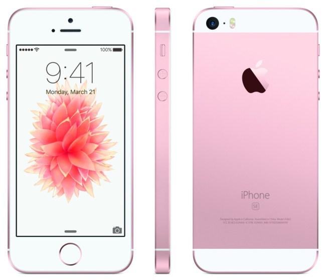 Das neue iPhone SE kombiniert die Gehäuse- und Bildschirmgröße des iPhone 5s mit der aktuellen Hardware des iPhone 6s. (Foto: Apple)