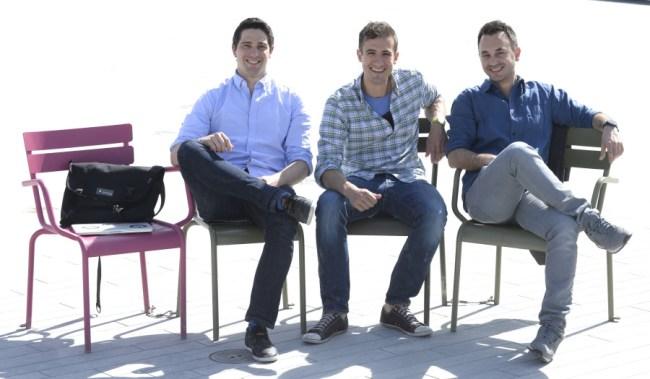 """Die Bring-Mannschaft um Dominic Mehr, Marco Cerqui und Sandro Strebel hat gut lachen: Ihre Einkaufslisten-App wurde für die """"Google Play Awards"""" nominiert (Foto: Bring Labs AG)"""