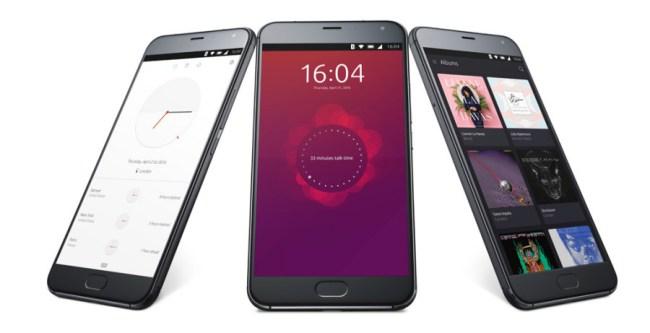 """Das Smartphone """"Meizu Pro 5 Ubuntu Edition"""" verwendet getreu seinem Namen eine Ubuntu-Version als Betriebssystem. (Foto: Canonical)"""