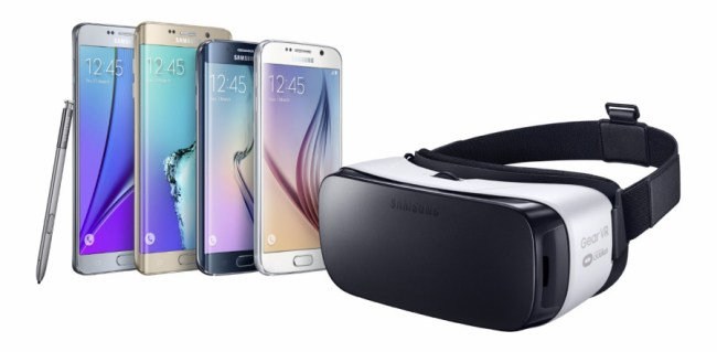 """Die Virtual-Reality-Lösung """"Gear VR"""" von Samsung verträgt sich mit den Galaxy-Smartphones S7, S7 Edge, S6, S6 Edge und Note 5. (Foto: Samsung)"""