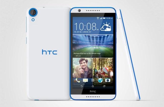 """Das Smartphone """"HTC Desire 820"""" erhält derzeit das Update auf Android 6.0 und Sense 7.0. (Foto: HTC)"""