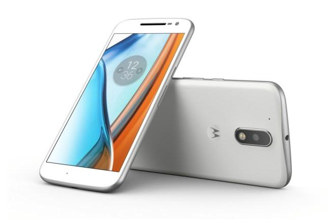 """Das neue Smartphone """"Moto G4"""" bietet einen 5,5-Zoll-Bildschirm, einen Snapdragon-617-Prozessor und eine 13-Megapixel-Kamera. (Foto: Motorola Mobility)"""