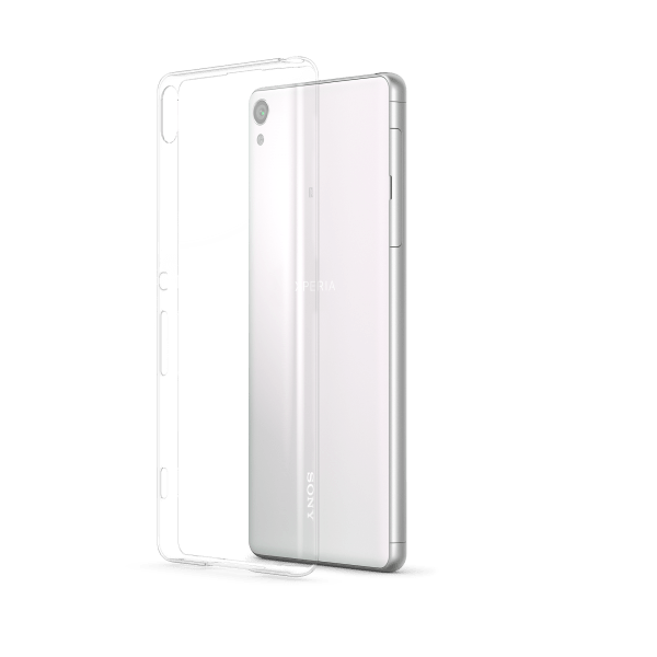 Transparent Cover Xperia XA Back40 White