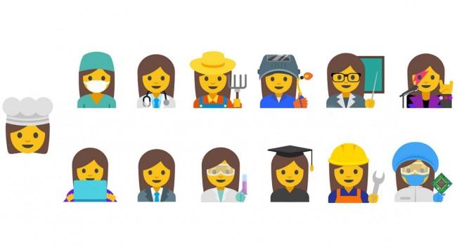 google-frauen-emojis