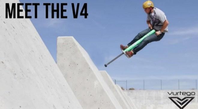 Der V4 Pro von Vurtego kostet 420 Dollar und katapultiert dich 3 Meter hoch (Foto: Vurtego)