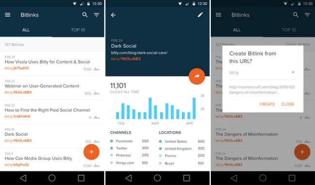 Bitly Android App