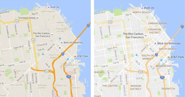 Google Maps Redesign