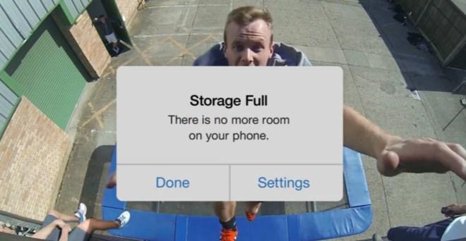 In den wichtigsten Momenten einer Aufnahme ist der Speicher voll! Nicht mit Google Fotos. (Foto: Google)