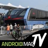 Video: Der Transit Elevated Bus, der über die Autos hinwegfährt, wurde bereits gebaut
