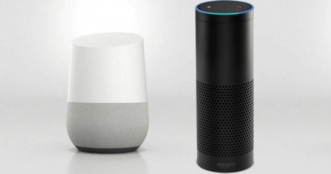 Welcher smarte Home-Assistent ist besser: Google Home oder Amazon Echo? (Foto: recombu)