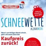 Hartlauer-Schneewette: Mit etwas Glück den Kaufpreis zurück!