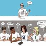 Apple, Google und der feine Unterschied