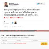SlingPlayer für Android aktualisiert
