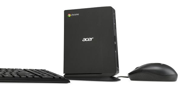 Acer Chromebox CXI desktop coming in late September
