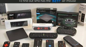 Remote Roundup: What's the best air mouse for Kodi and Android TV Box?