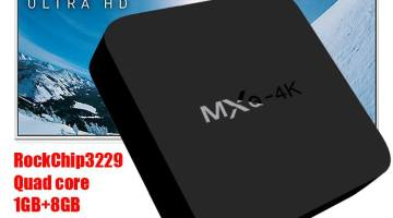 MXQ 4K RK3229 TV box available for $29.99
