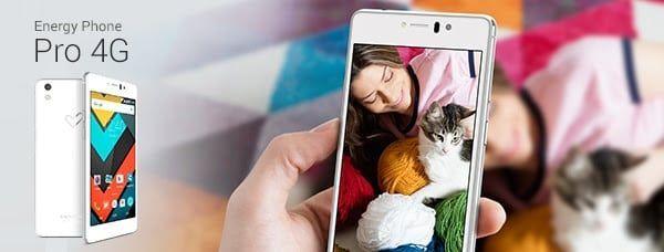 Nuevo Energy Phone Pro 4G: Toda la potencia de un procesador Qualcomm y el realismo del panel AMOLED