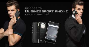 Doogee T5: El Smartphone a prueba de todo que te permite cambiar el look entre negocios o deportivo y viceversa en minutos