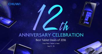 Celebra el 12º aniversario de Chuwi con ofertas para todos los bolsillos