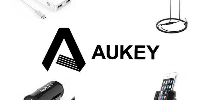 SORTEO de TRES lotes de productos AUKEY con CUATRO accesorios cada uno de ellos