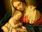 Sassoferrato-Madonna & Child