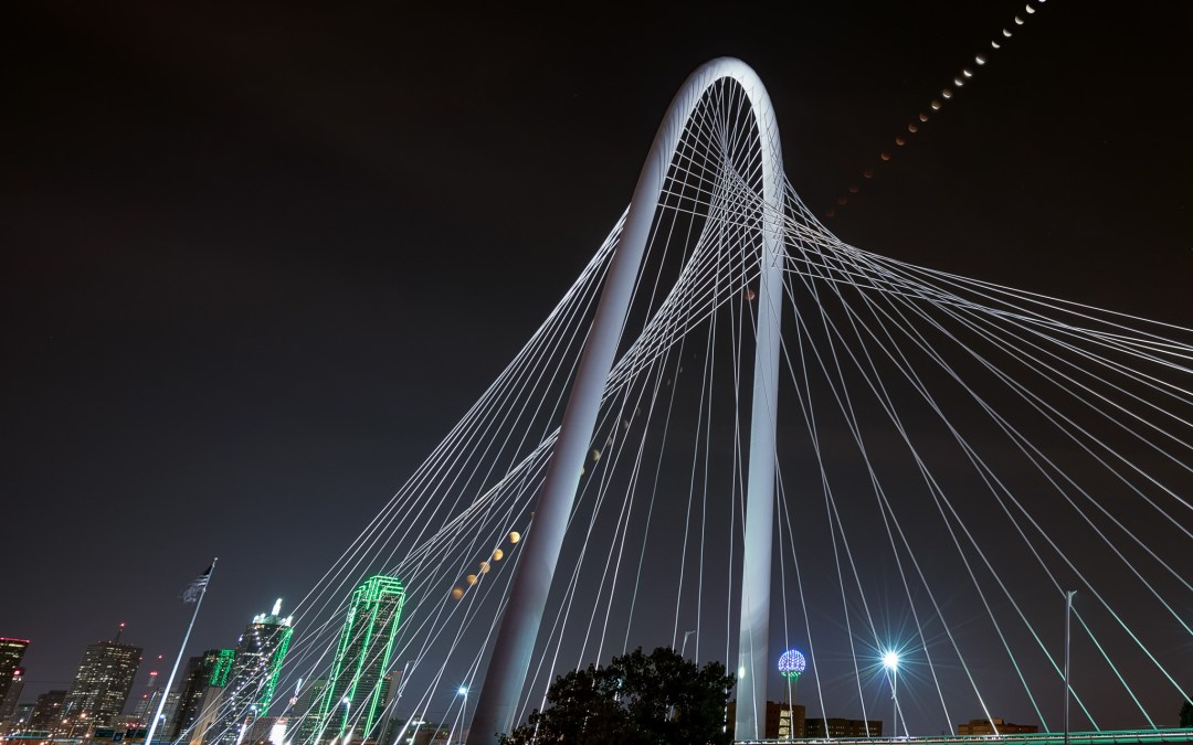 Picture of the Week: Supermoon Eclipse over Dallas