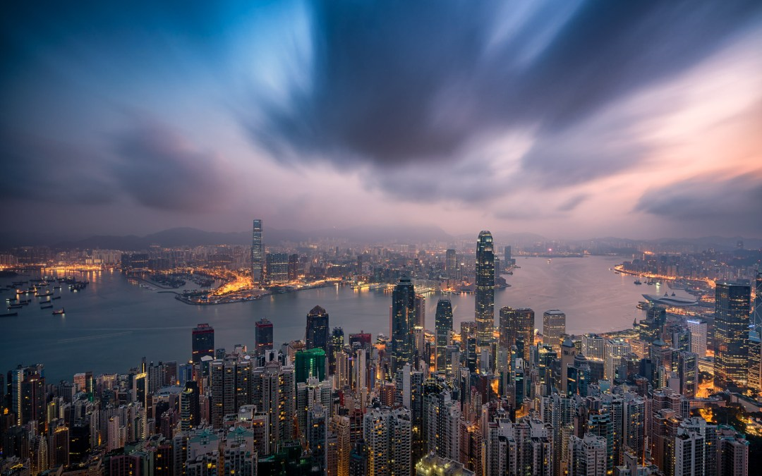 The BEST spot for Hong Kong sunrise pictures