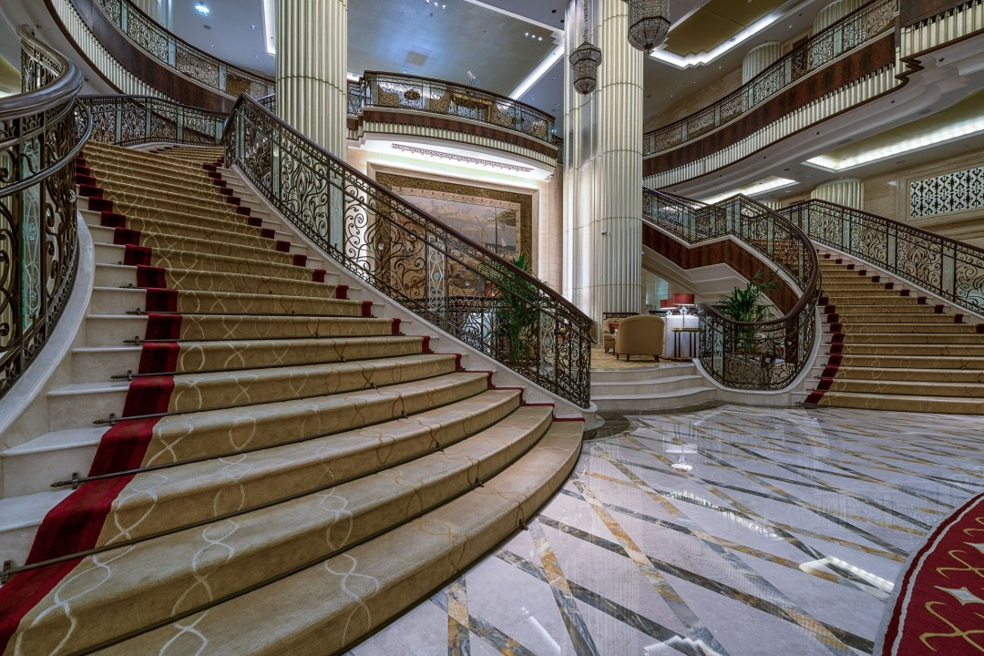 Foyer Stairs Review : St regis abu dhabi review andy s travel