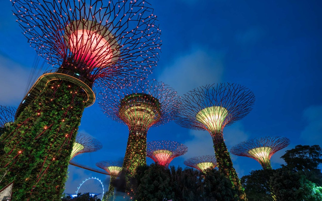 Singapore's Amazing Gardens by the Bay and Marina Bay Sands