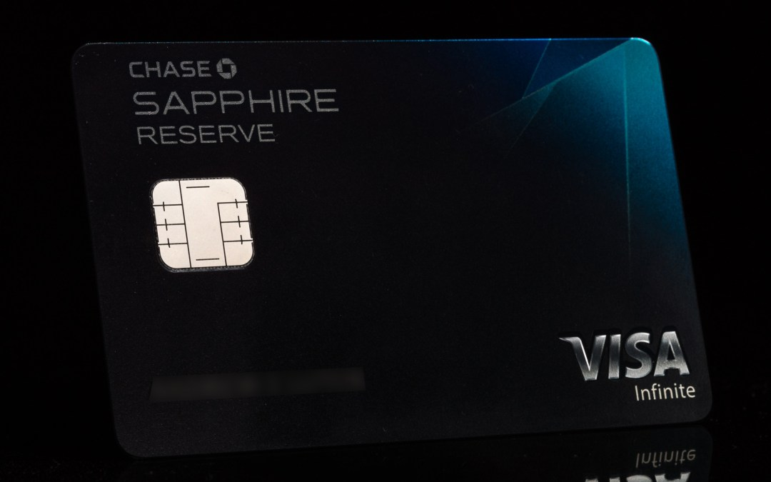 My Chase Sapphire Reserve is Here!