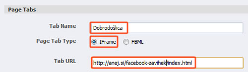 iframe page tabs