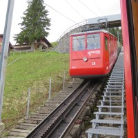 Because I wanted to ride a funicular (Switzerland with kids)