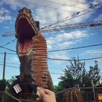 Dinosaurs and All the Foods at Richmond Night Market